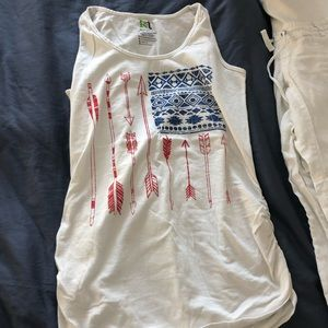 Tops - Maternity 4th of July tank top Small